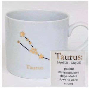 Cost Plus World Market Taurus Mug New